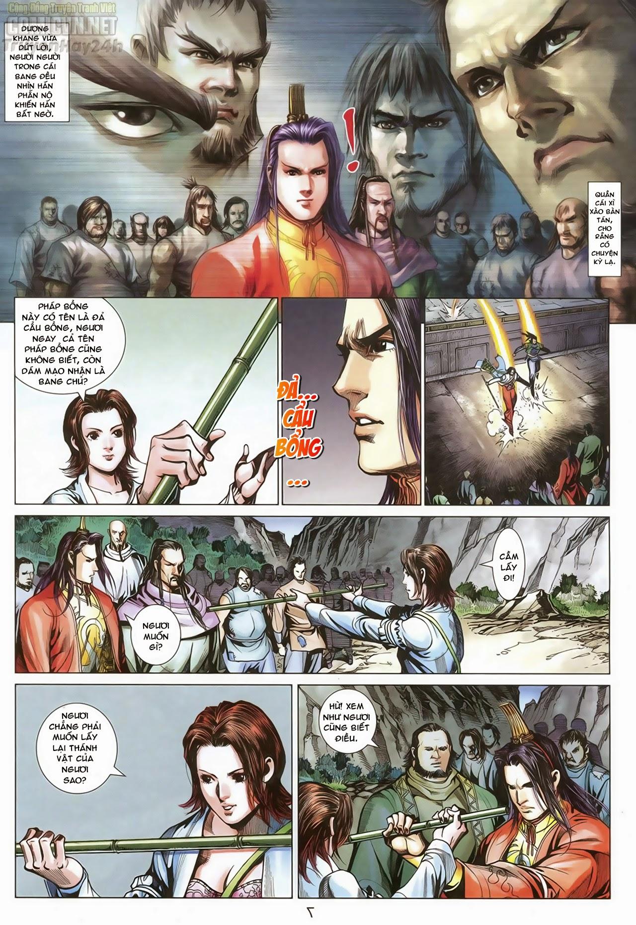 Anh Hùng Xạ Điêu anh hùng xạ đêu chap 68: di thư chân kinh - lừa tình trang 8