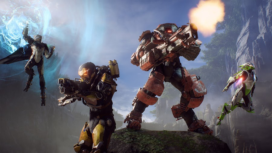 anthem bioware javelins open demo