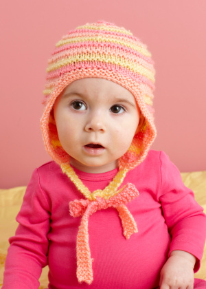 Baby Earflap Hat Knitting Pattern : Miss Julias Patterns: Free Funky Ear Flap Hat Patterns