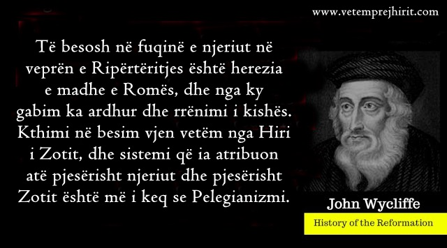 Herezia e Romes, kisha katolike, shpetimi, reformacioni, protestante,