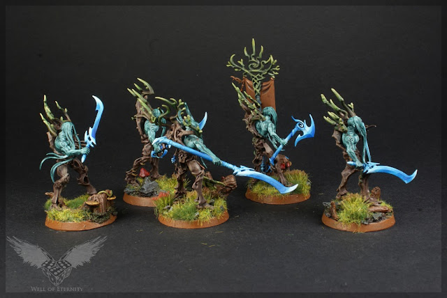 warhammer age of sigmar tree revenants painted 3