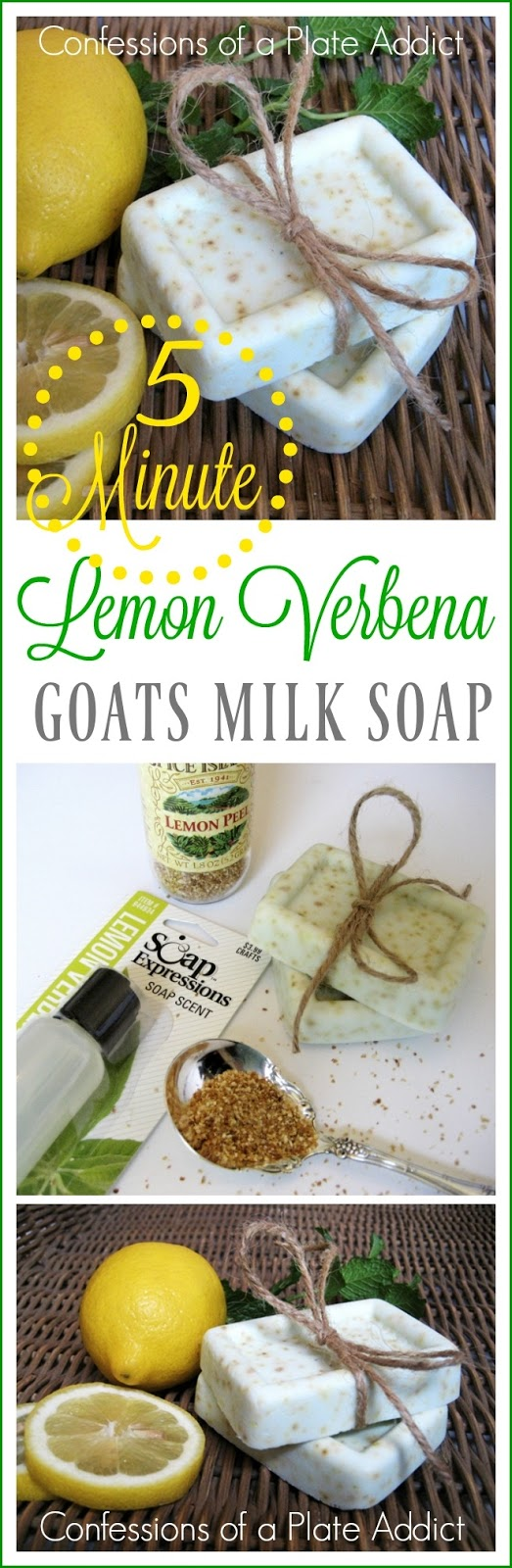 Lemon Verbena Soap Recipe
