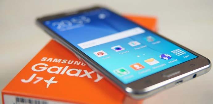 Android Dual Kamera - Samsung Galaxy J7 Plus