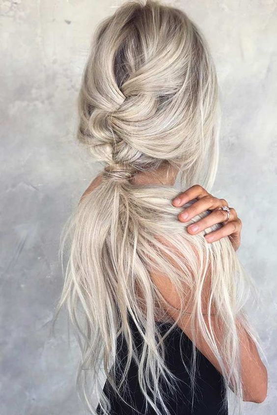 Add A French Braid To Your Pony