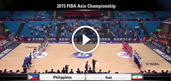 Fiba Asia 2015: Gilas Pilipinas def. Iran, 87-73 (REPLAY VIDEO)