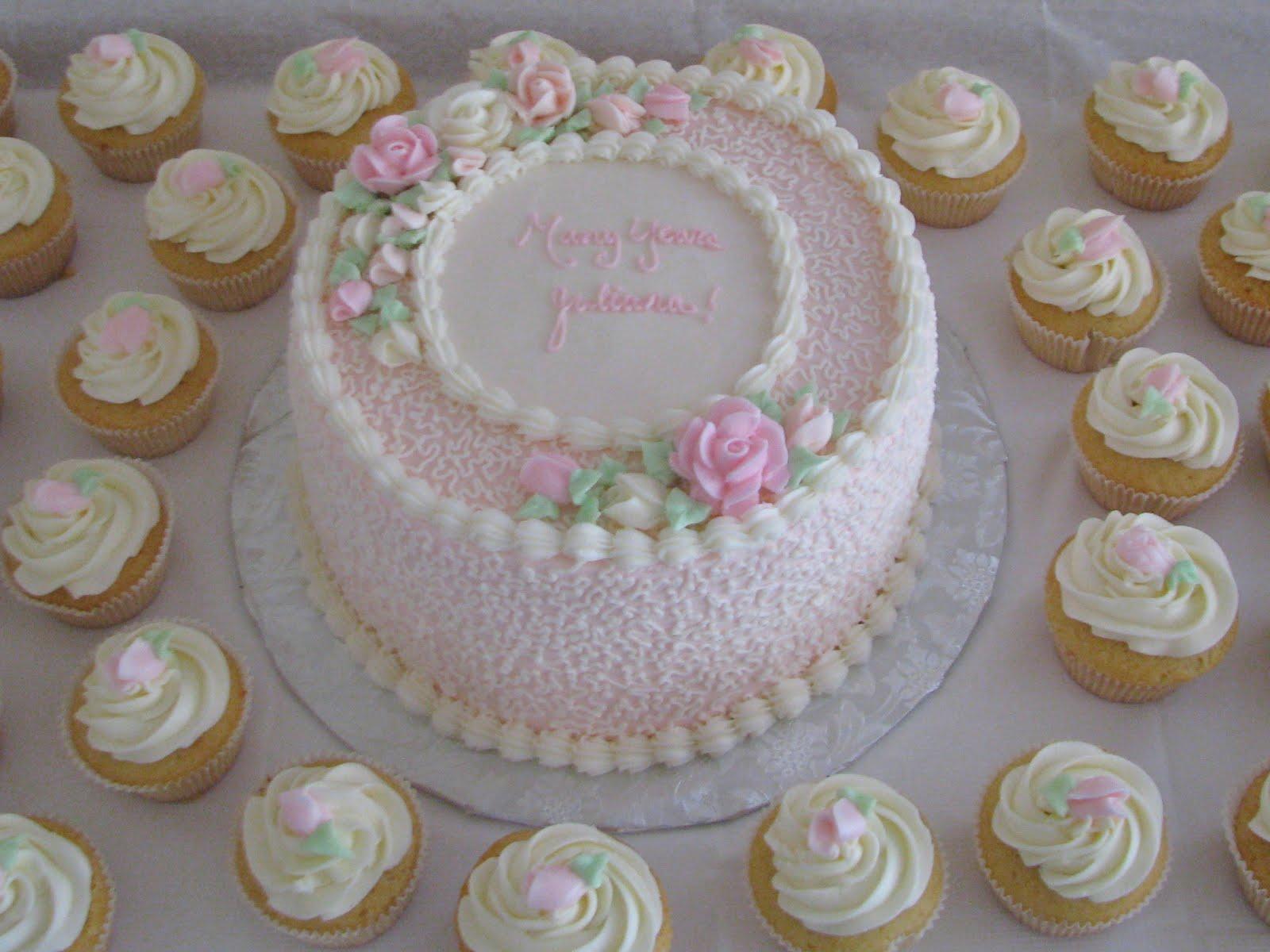 Christening Cakes Buttercream Icing