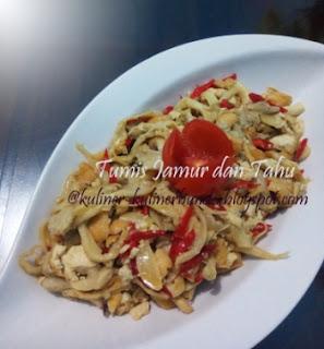 Resep Tumis Jamur dan Tahu, masakan jamur, cara membuat tumis jamur, jamur tiram