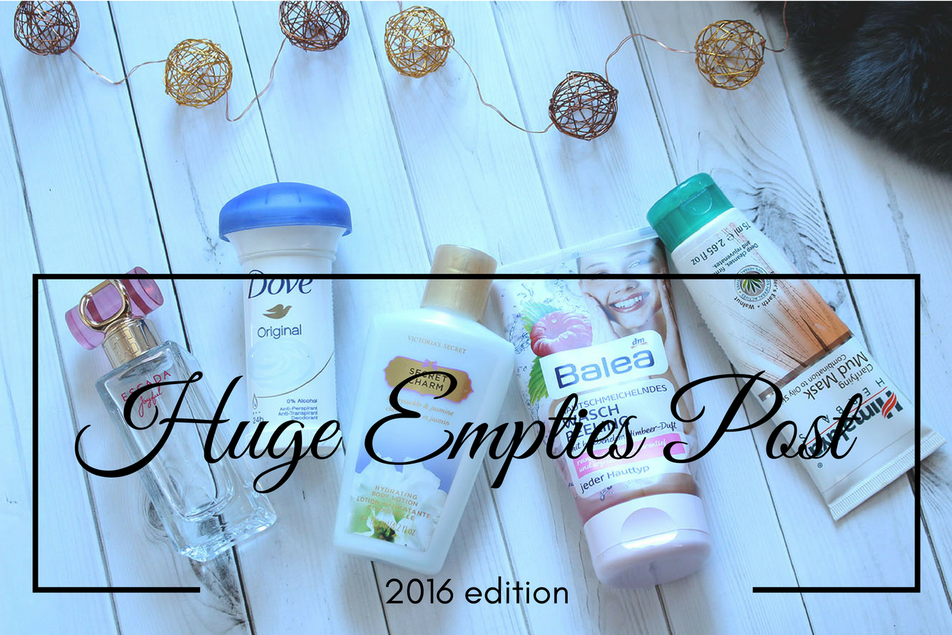 Huge Empties Post
