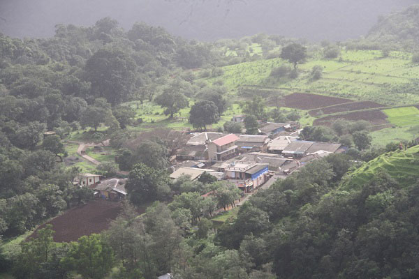 Rajmachi village