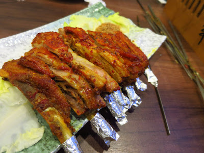 BBQ Box, lamb ribs