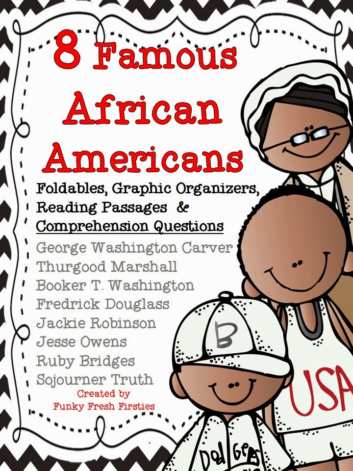 African American Living Room Apartment Decor: Funky Fresh Firsties: 8 Famous African Americans {and A