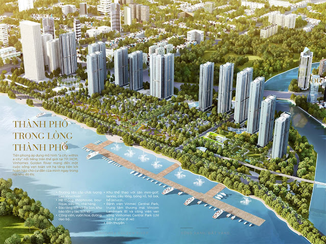 Golden River, River City, The Gold View, Sai Gon Royal, Tresor