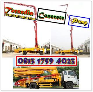 Harga Rental Pompa Beton Concrete Pump Pademangan Jakut