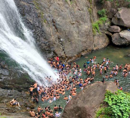 Tamilnadu Tourism Palaruvi Falls Milky Falls Aryankavu