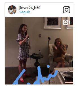 Hijas de A-Rod Admiran a Jennifer Lopez