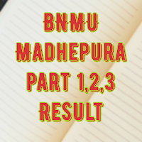 Education, Get Result 2018, for B A, B.Com, BSc part 1/2/3 of BNMU