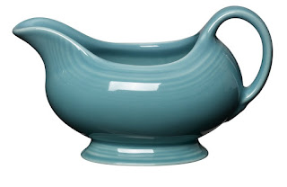ceramic gravy boat from fiesta