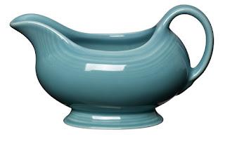 ceramic gravy boat from fiesta