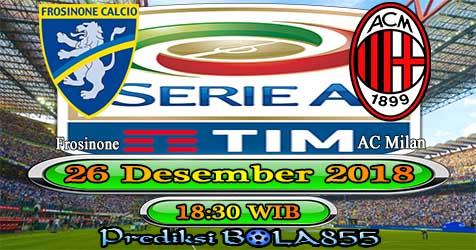 Prediksi Bola855 Frosinone vs AC Milan 26 Desember 2018