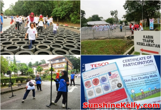 Tesco Walk, Walk For Life 2013, Fitness, charity walk, Clubcard Cop Cop Day Challenge, university of malaya, help children with leukaemia,