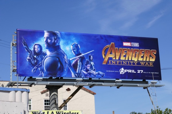 Bucky Cap America Nebula Shuri Avengers Infinity billboard