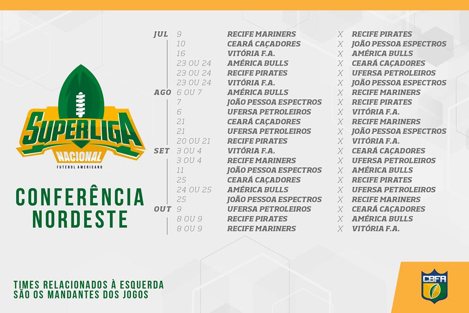 Overtime do F.A  CBFA (Confederação Brasileira de Futebol Americano ... f3855f3f57cd9