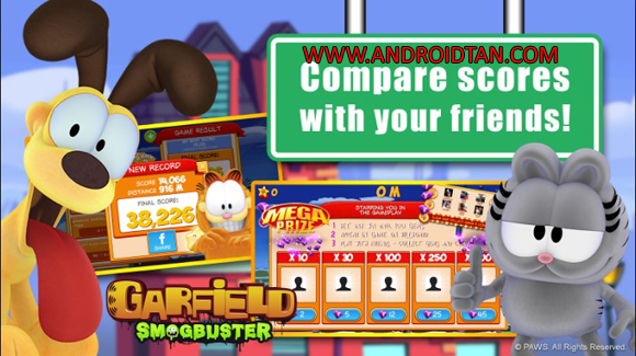 Garfield Smogbuster Mod Apk Free Download