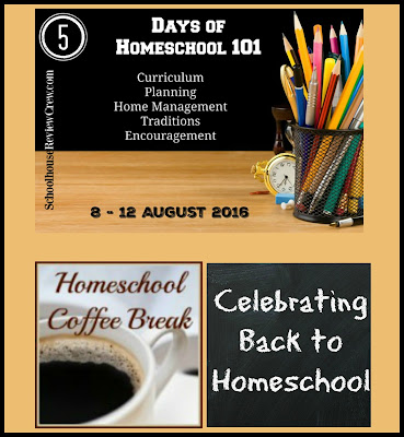 Homeschool 101 - Celebrating Back to Homeschool on Homeschool Coffee Break @ kympossibleblog.blogspot.com - Do you have first day back to homeschool traditions? We've tried to celebrate back to homeschool with first day pictures and treats, but each year is different. Check out Traditions in the #5daysofhomeschool101 blog hop hosted by the SchoolhouseReviewCrew.com