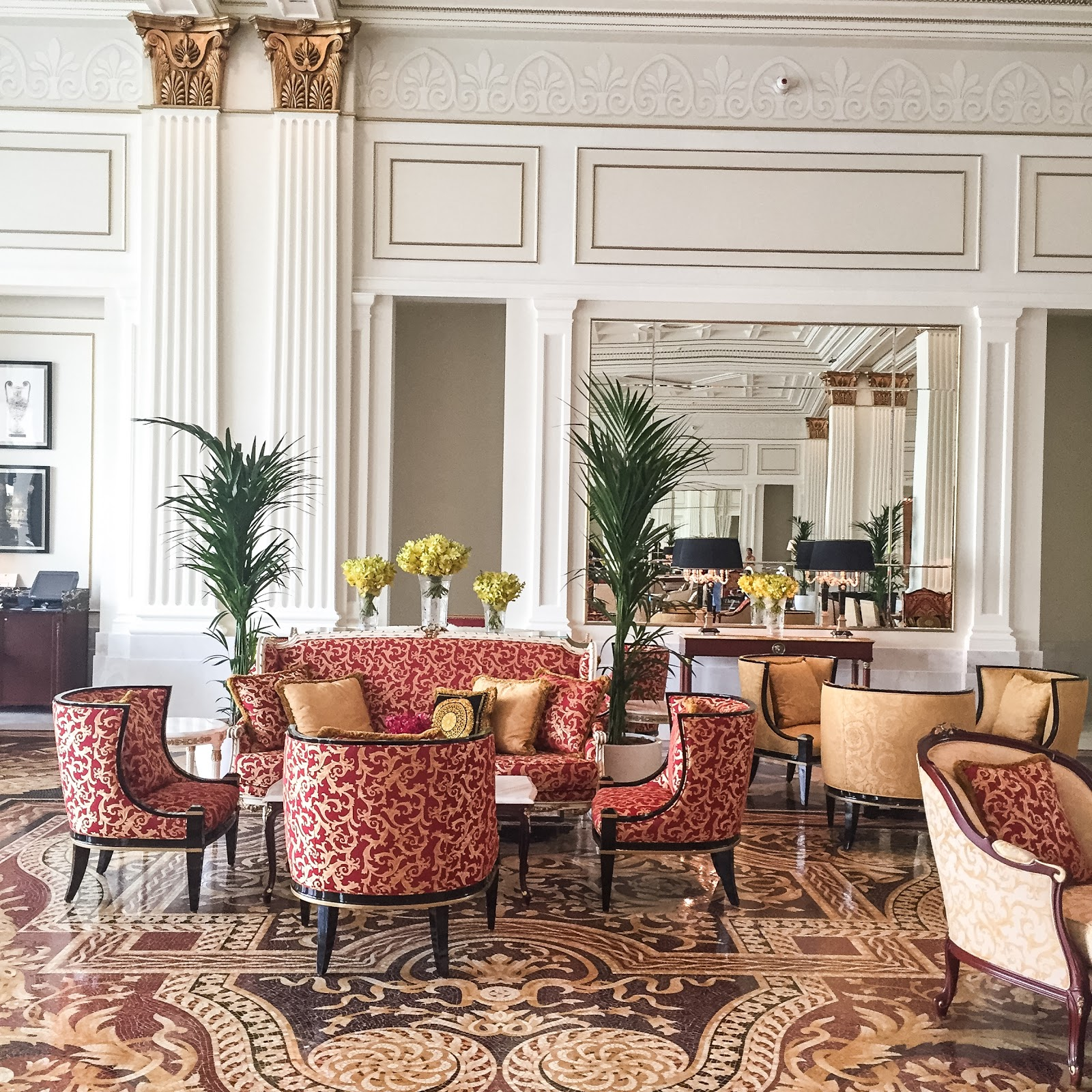 hotel review palazzo versace dubai fashion daydreams uk situated on the rather quiet dubai creek palazzo versace has an imposing presence on the waterfront styled after a 16th century italian palace