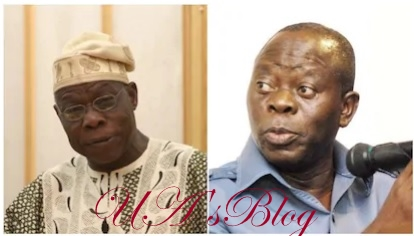 2019: Obasanjo wants another term through the back door - Oshiomhole
