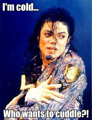 Michael Jackson Cuddle Meme