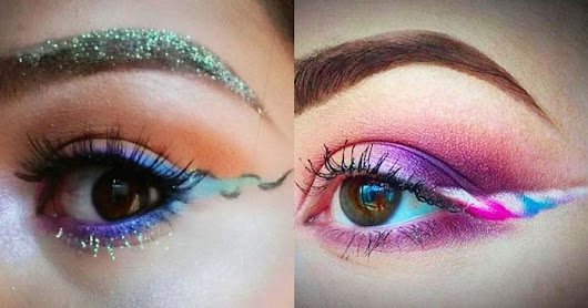 Magical, Stunning Unicorn Eye Liner Is Now a Thing