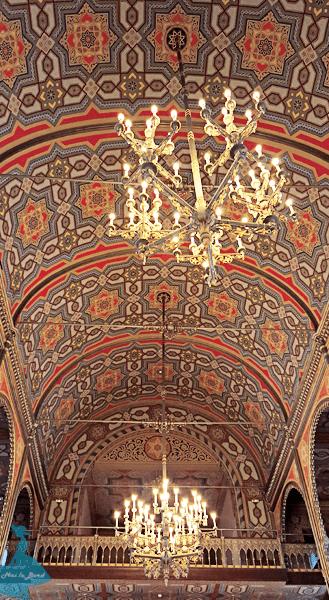 tavan templul coral sinagoga bucuresti