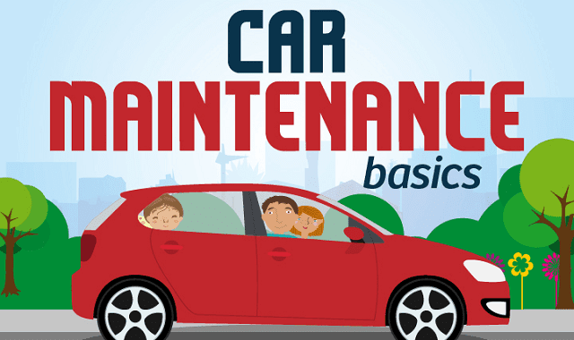 Basic Car Maintenance >> A Visual Guide To Car Maintenance Infographic Visualistan