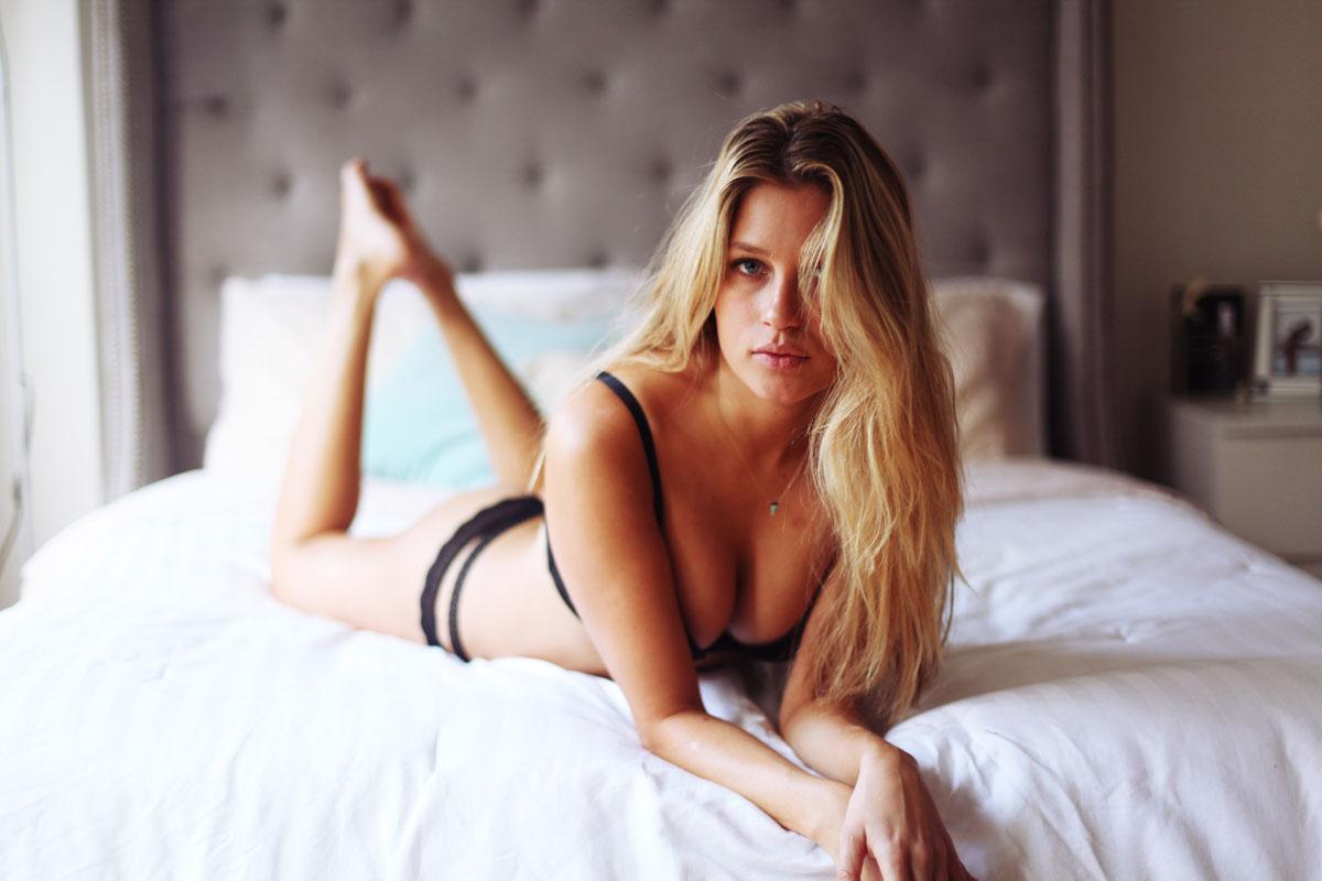 A beleza natural de Paige Watkins