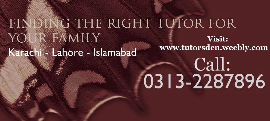 Online tutor in Lahore and Home tuition Lahore Tutor Academy
