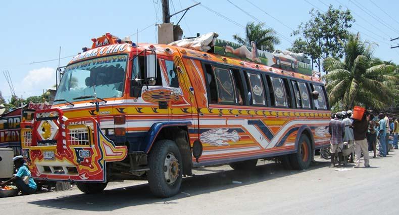 Гаити автобусы