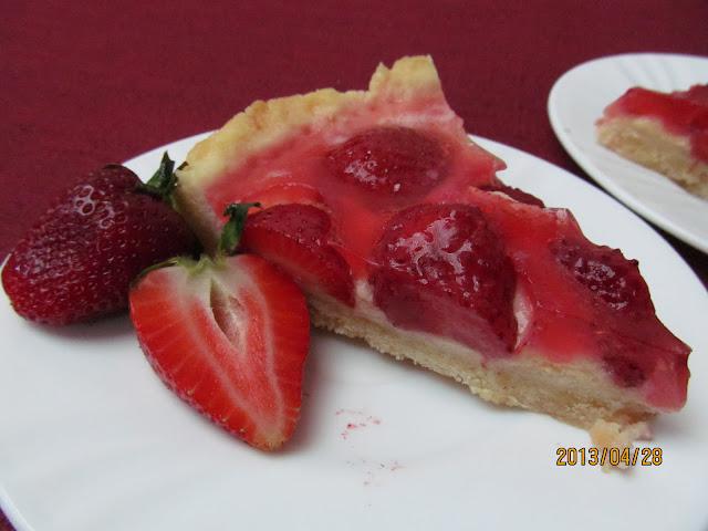 Epres-vaníliakrémes torta