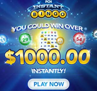 Play PCH Instant Bingo