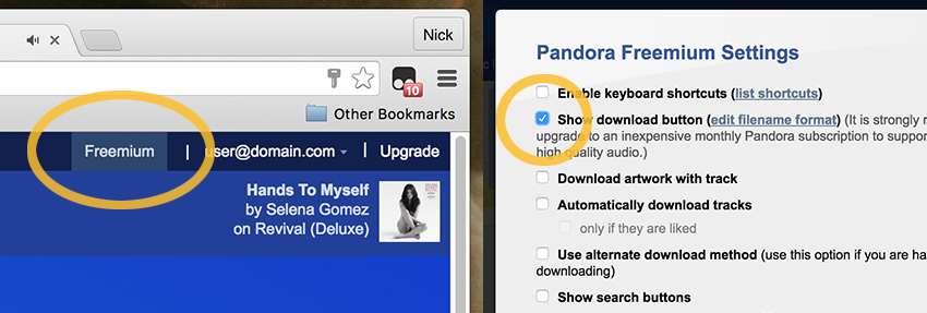 Download Pandora music online free, unlimited skips, and without advertising.