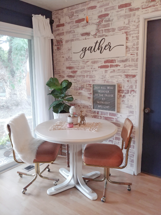 vintage dining table makeover & Vintage Dining Table Makeover - Little Vintage Cottage