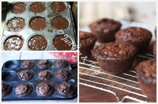 Resep Brownies Muffin (Bruffin) JTT