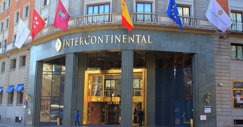 Hotel intercontinental madrid 5 dinkyviajeros for Hoteles en la puerta