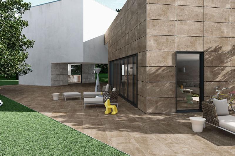 Baldosas de ceramica para exterior finest ambiente serie for Baldosas de exterior