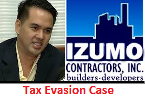 Cedric Lee's Company Izumo Contractors Accused of Tax Evasion.