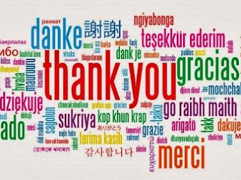 Terima Kasih Kepada 132 Blogger Yang Support Papaglamz