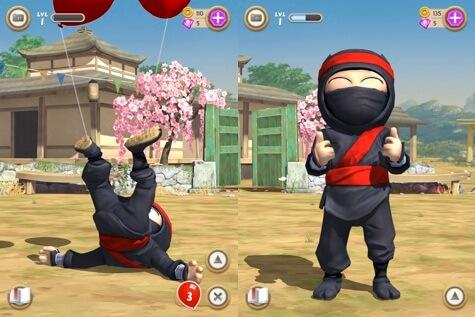 clumsy ninja مهكرة