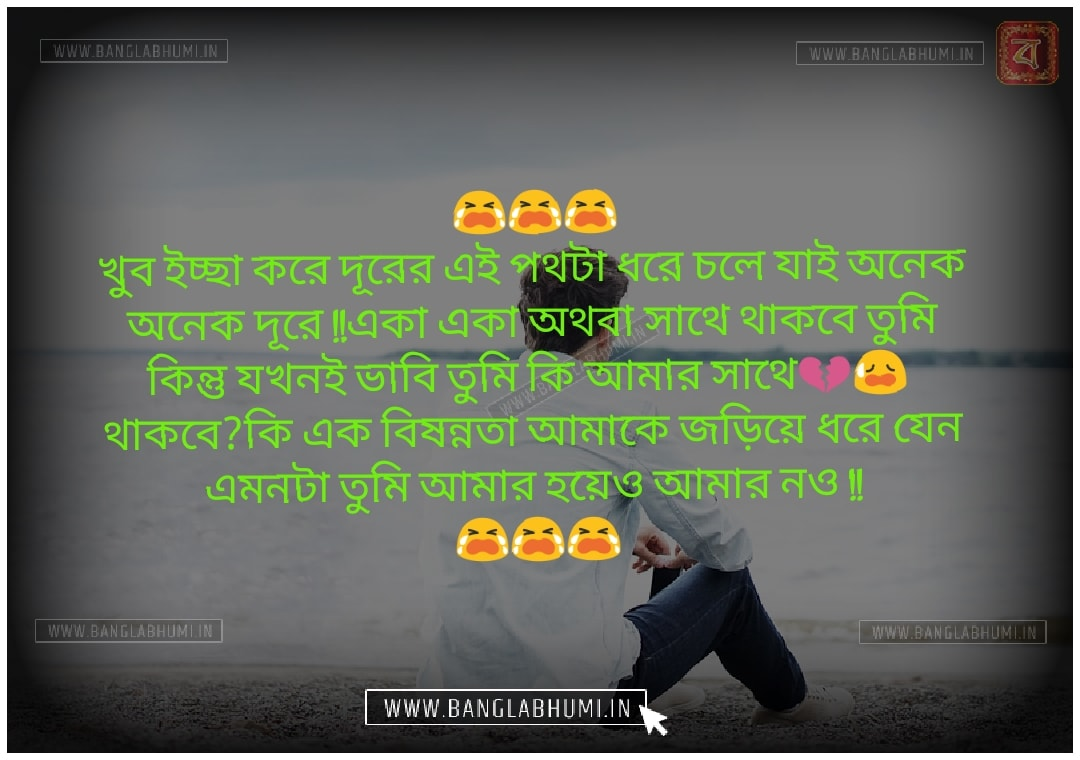 Whatsapp Bangla Sad Love Shayari Status Free Download & share