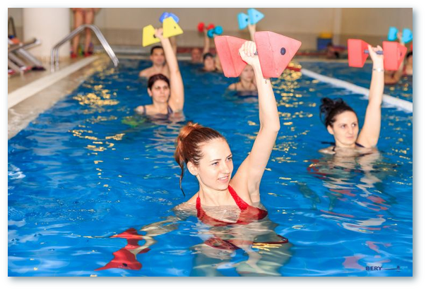 Aqua gym. Beneficiile gimnasticii in apa