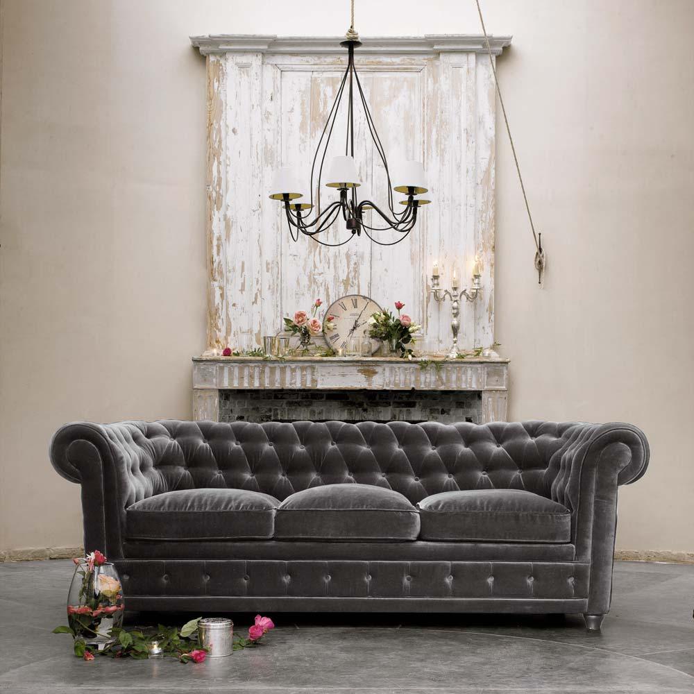 Chesterfield Maison Du Monde a graceful home: the chesterfield sofa